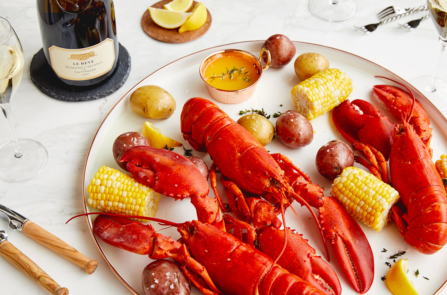 Le Reve and Lobster Event