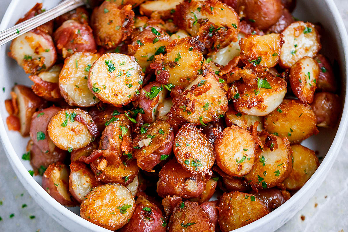 Roasted Garlic and Onion Potatoes